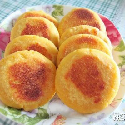 红薯馅玉米饼—粗粮细