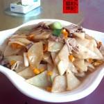 凉薯炒猪肉