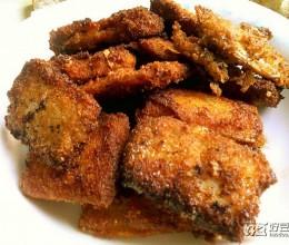 炸五香带鱼