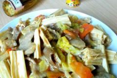 腐竹炒肉片