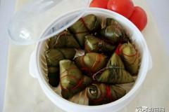 蜜豆红枣粽子