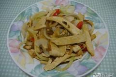 豆干榨菜丝