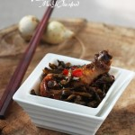 干豆角燉土雞