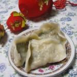 小白菜素饺子