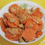 豆渣炒胡萝卜