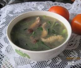 香菇虾干青菜汤
