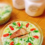 枸杞菠菜猪肝粥