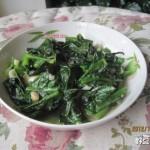蒜香莴笋叶