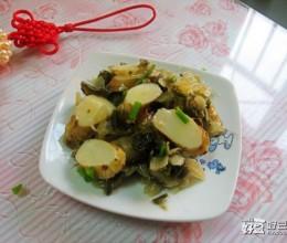 铁棍山药腌菜炒