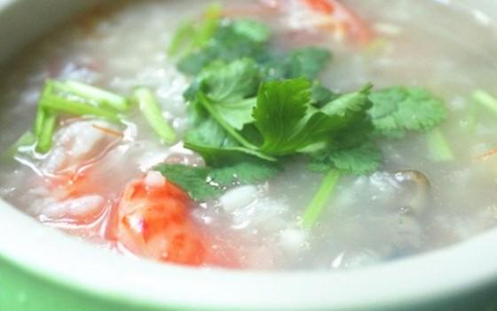 黄鳝海虾粥