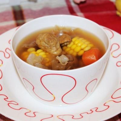 松茸银耳瘦肉汤