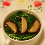 香菇鸡毛菜汤