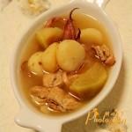 青萝卜马蹄鱿鱼汤