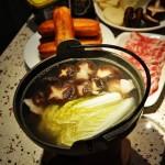 肉片香菇火锅