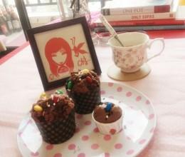 巧克力玛芬蛋糕