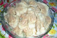 胡萝卜肉水饺