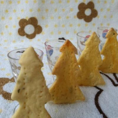 豆渣圣诞树饼干