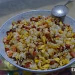 虾仁火腿蛋炒饭