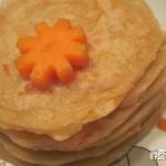 胡萝卜煎饼