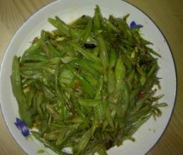 素炒四季豆丝