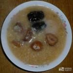 栗枣二米粥