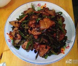 小青椒炒肉
