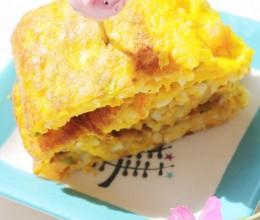 南瓜米饭饼