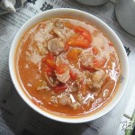 西红柿瘦肉汤