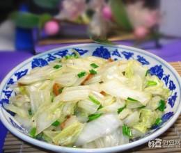 白菜炒大蒜叶
