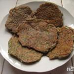 芹菜虾皮豆渣饼