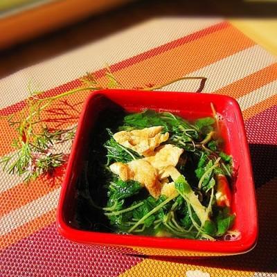 紫苏苗鸡蛋汤