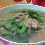 杂蔬肉片汤