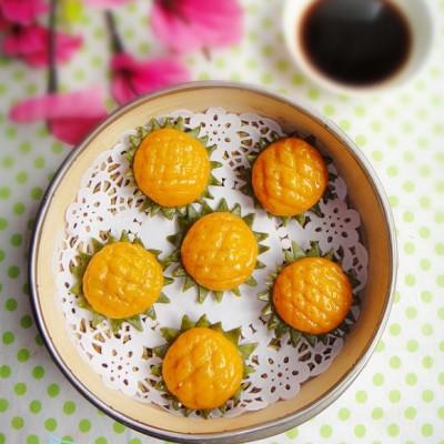 太阳花蒸饺