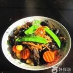 蚝油炒斋菜