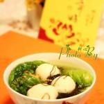 发菜鱼丸汤