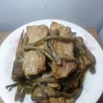 干豆角炖排骨