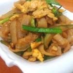 西葫芦炒米皮