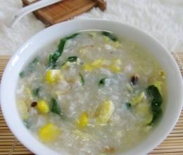 杂菜鱼蓉粥