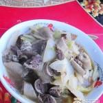 牛肠白菜片