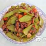 莴苣片炒肉