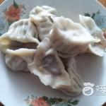 荠菜猪肉馅饺子