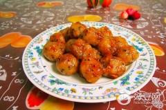 糖炒糯米肉丸