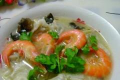 鲜虾茴香馄饨