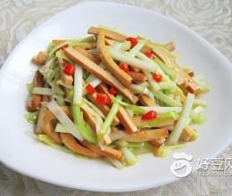 蚝油韭黄炒香干
