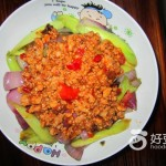 洋葱青瓜炒肉末