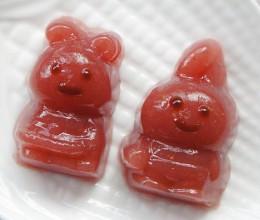 草莓血珊瑚草果冻