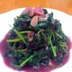 蒜茸红苋菜