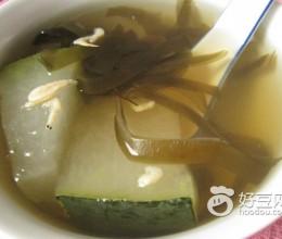 虾皮海带冬瓜汤