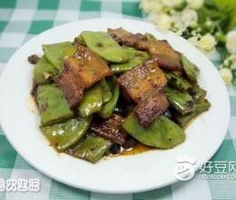 豆豉五花肉炒扁豆