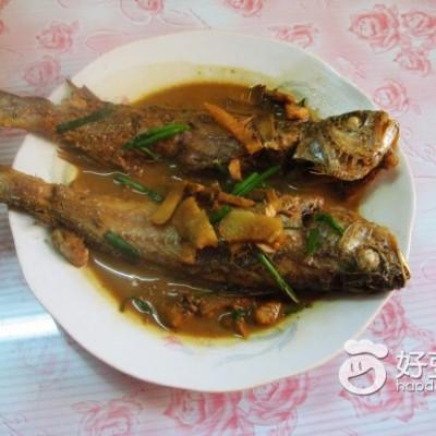 红烧小黄鱼